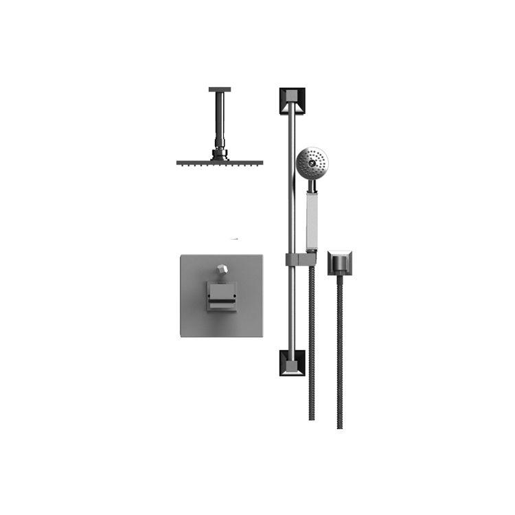 Rubinet T213MQLCHABM Matthew Quinn Pressure Balance Shower With ...