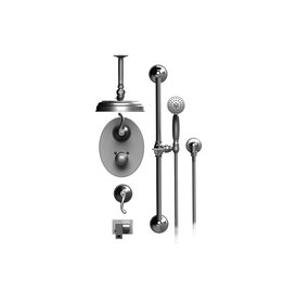 Rubinet Rubinet T28ETLCHCH Etruscan Temperature Control Shower With Two Way Diverter Shut Off Chrome