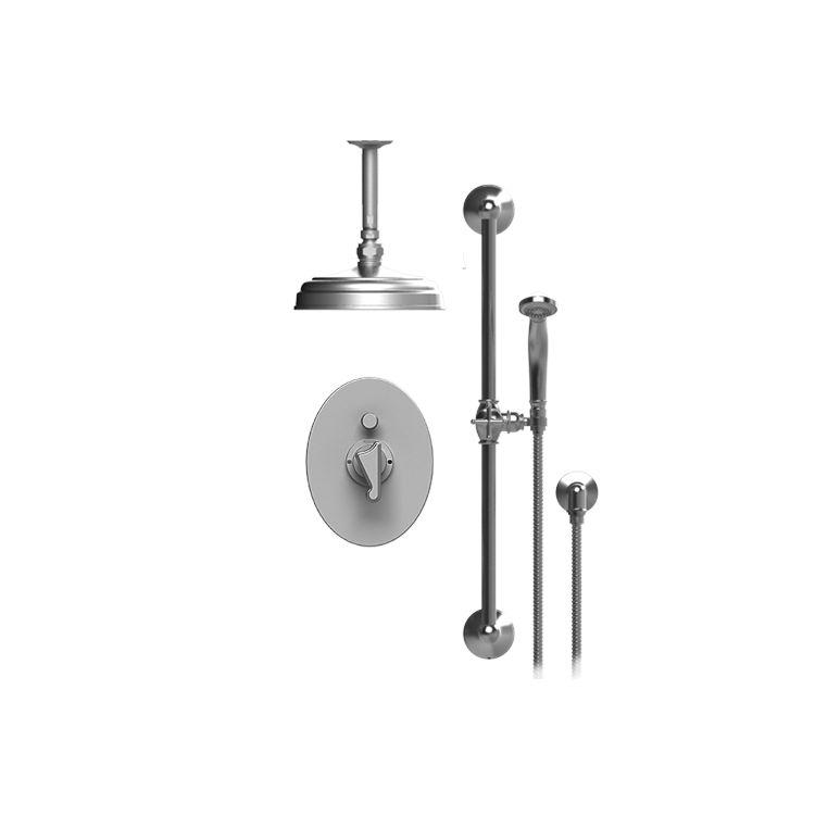 Rubinet 213JSLCHCH Jasmin Pressure Balance Shower With Fixed Shower ...