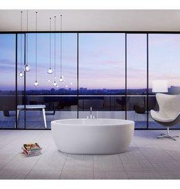 SLIK Slik 67FS33 Wave Freestanding Bathtub