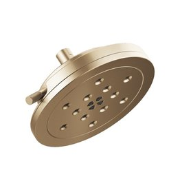 Brizo Brizo 87435 Litze 4 Function Showerhead With H2Okinetic Technology Luxe Gold