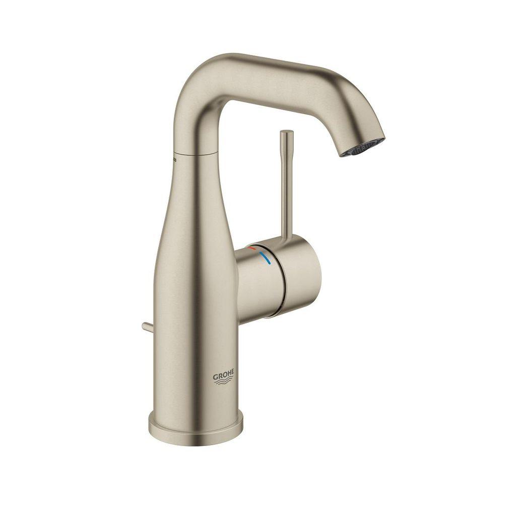 Grohe 23485ena Essence Single Handle Bathroom Faucet M Size Brushed