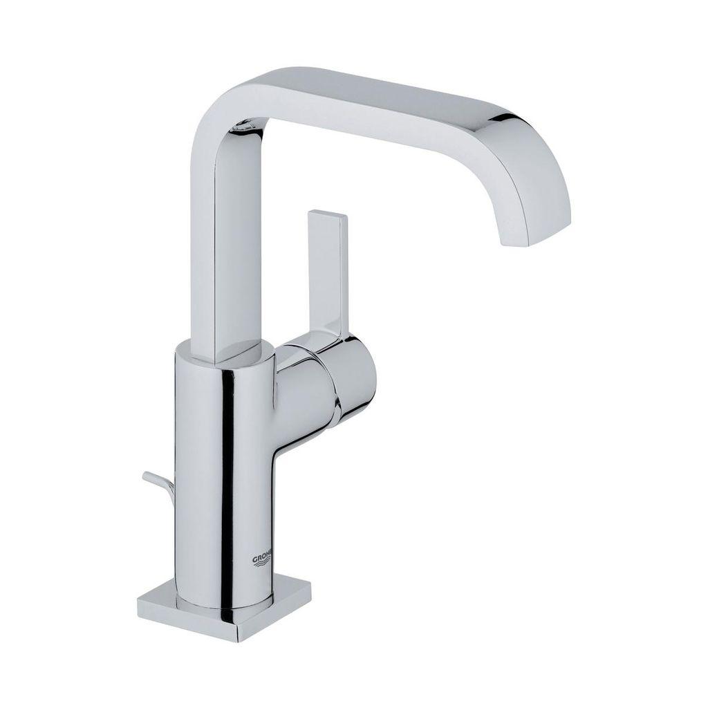 Grohe 3212800A Allure Single Handle Bathroom Faucet L Size Chrome ...