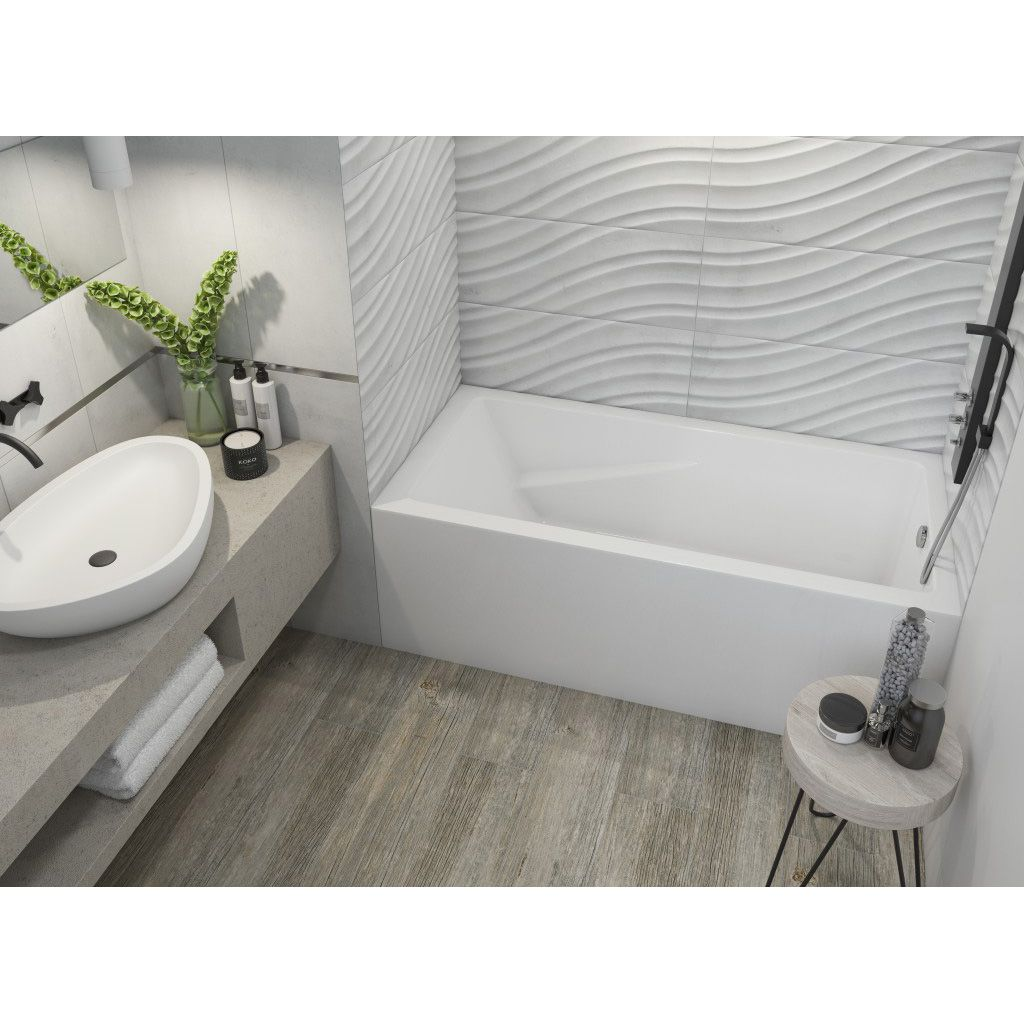 Mirolin BO105L/R 60 Skirted Bath Bone - Home Comfort Centre