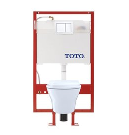 Toto TOTO CWT437237MFG MH Wall Hung Toilet And DUOFIT In Wall Tank System PEX Supply