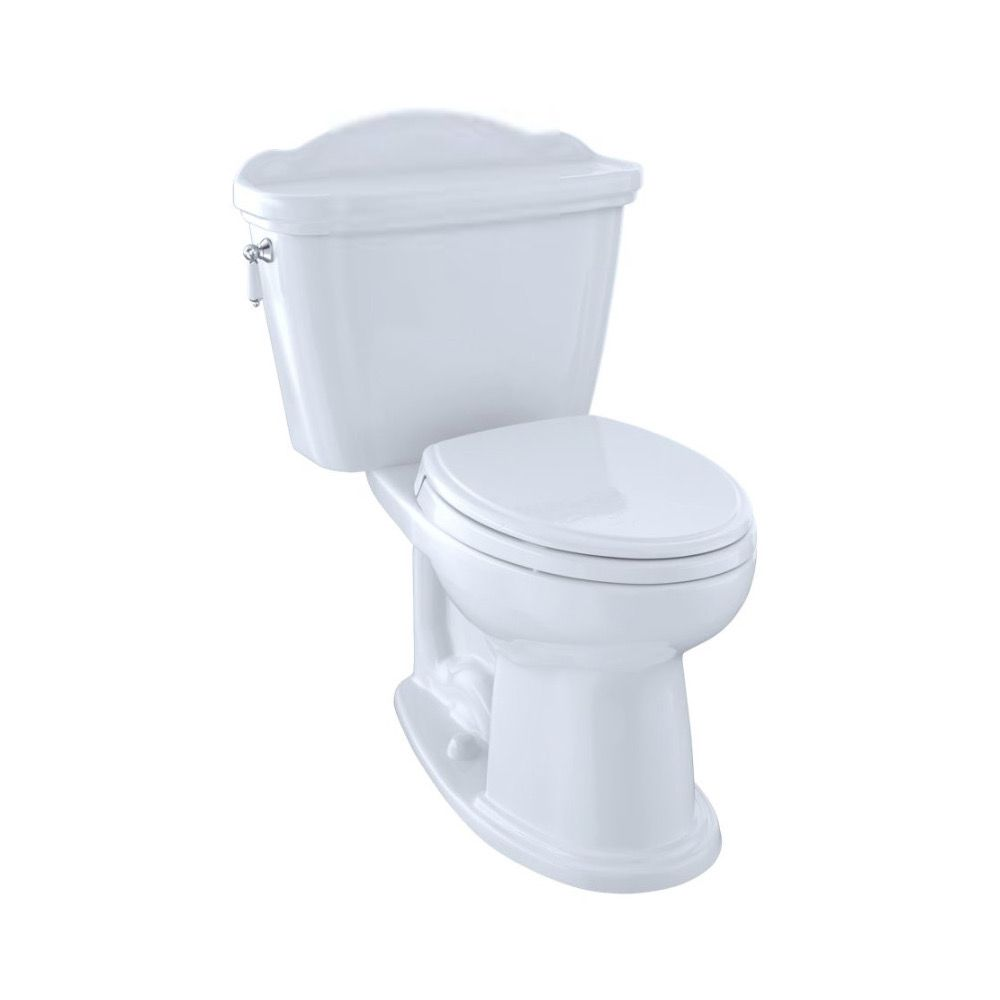 TOTO CST754EFN Eco Whitney Two Piece Elongated Toilet Cotton - Home ...