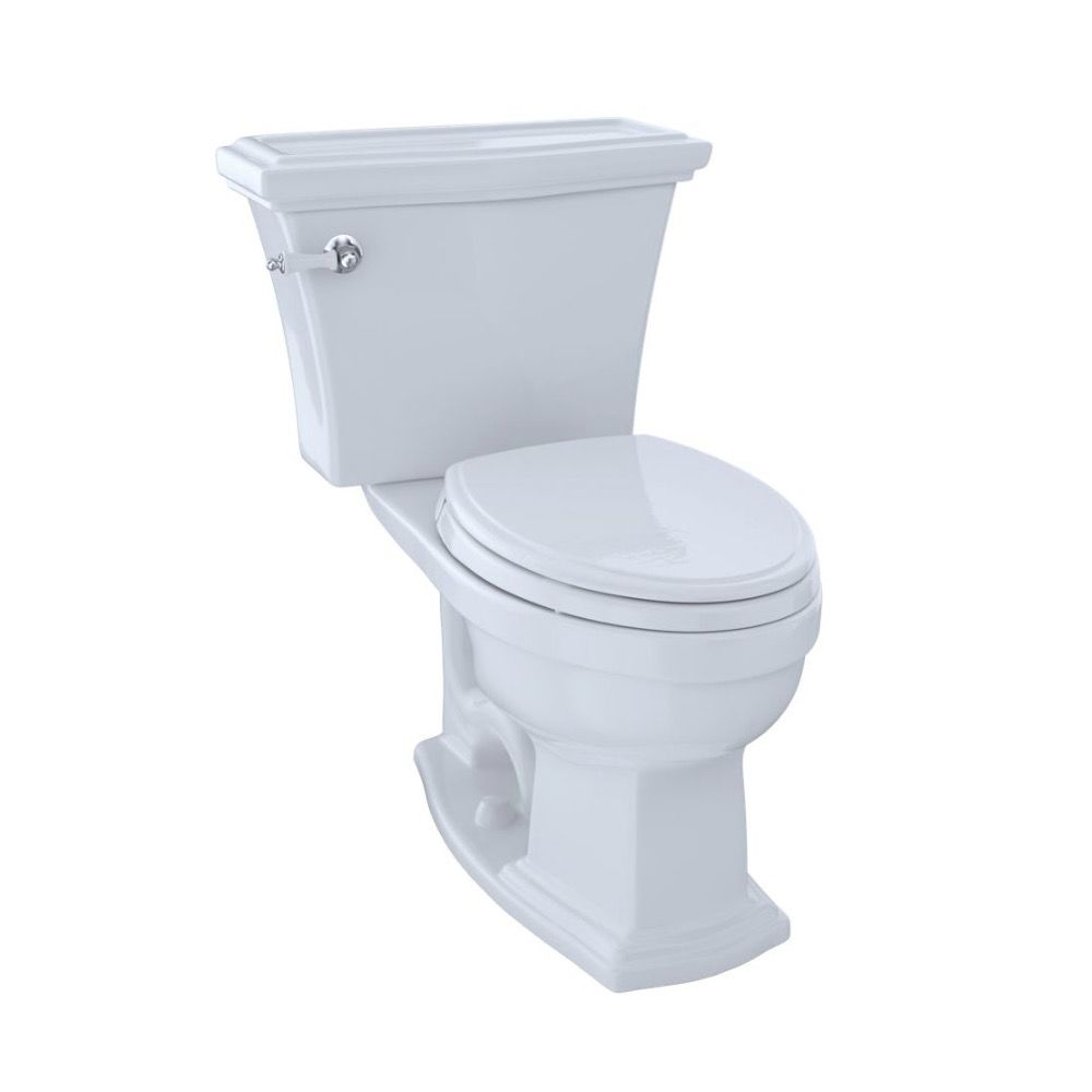 TOTO CST784SF Clayton Two Piece Elongated Toilet Cotton - Home ...