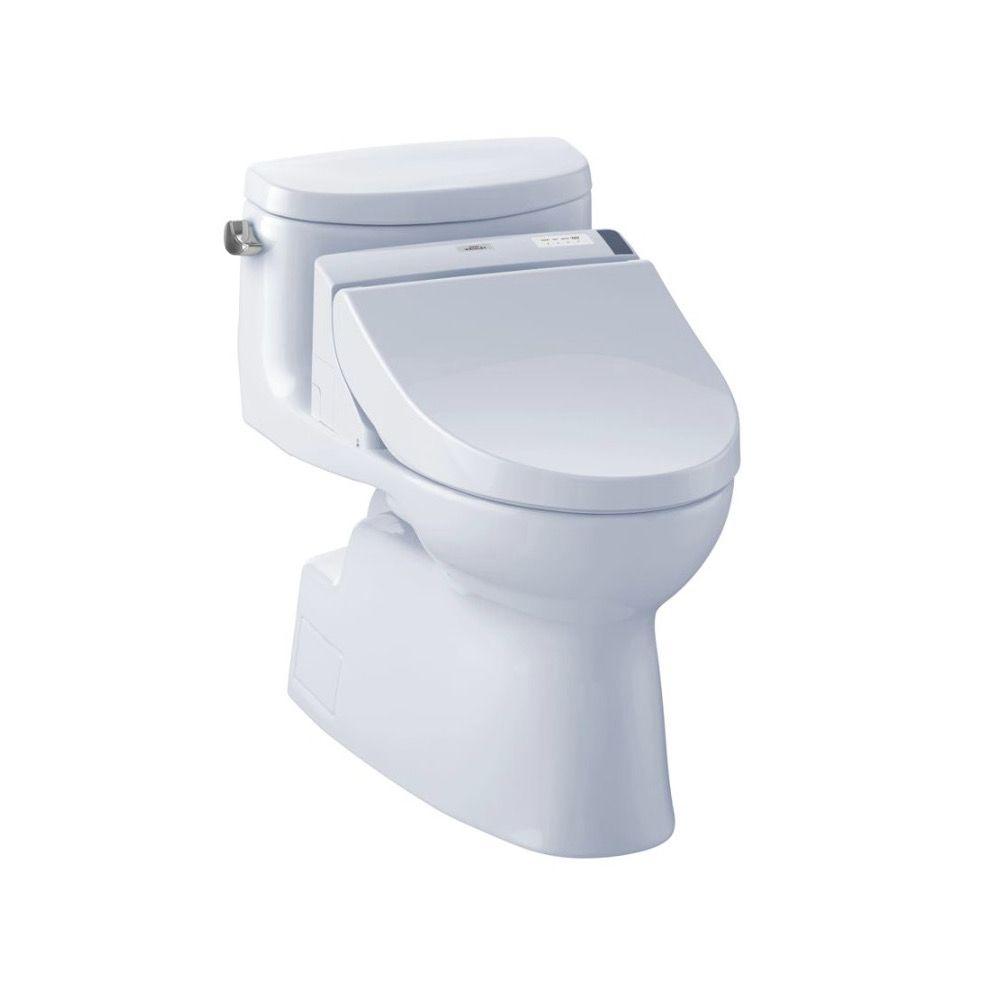 TOTO MW6442044CEFG Carolina II WASHLET C200 One Piece Toilet Cotton ...