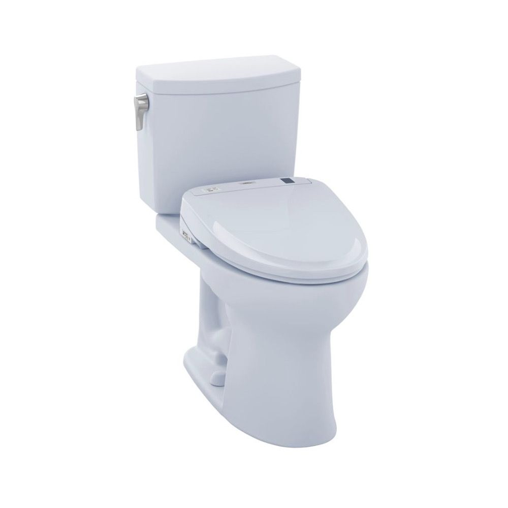 TOTO MW454584CUFG Drake II 1G WASHLET S350e Two Piece Toilet Cotton ...
