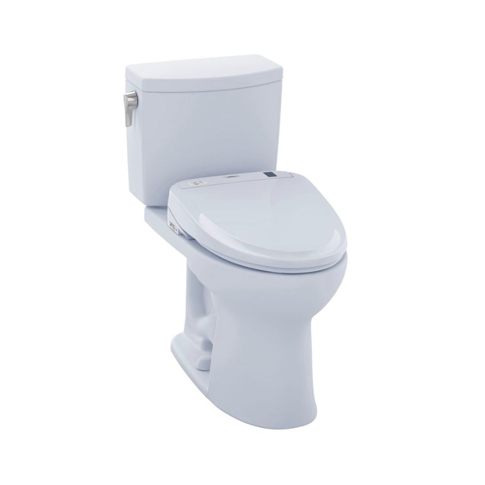 TOTO MW454574CUFG Drake II 1G WASHLET S300e Two Piece Toilet Cotton ...