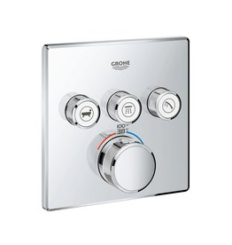 Grohe Grohe 29142000 Grohtherm SmartControl Triple Function Thermostatic Trim And Module Chrome