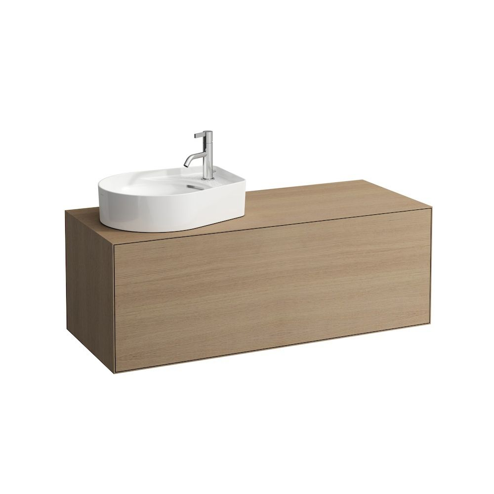 Laufen 409051 boutique one drawer vanity unit cut out left light oak laufen laufen 409051 boutique one drawer vanity unit cut out left light oak aloadofball