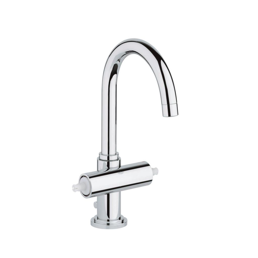 Grohe 2102700A Atrio Single Hole L Size Bathroom Faucet Chrome ...
