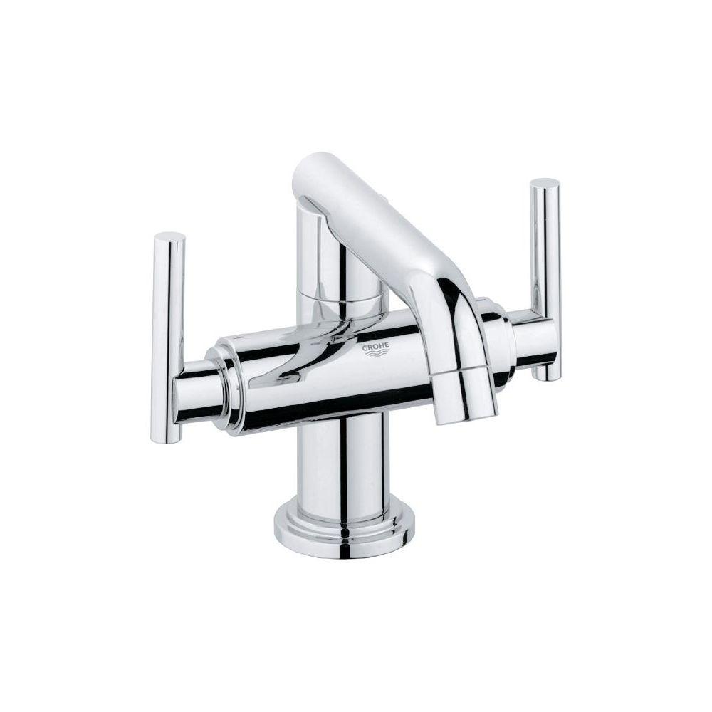 Grohe 2103100A Atrio Single Hole M Size Bathroom Faucet Chrome ...