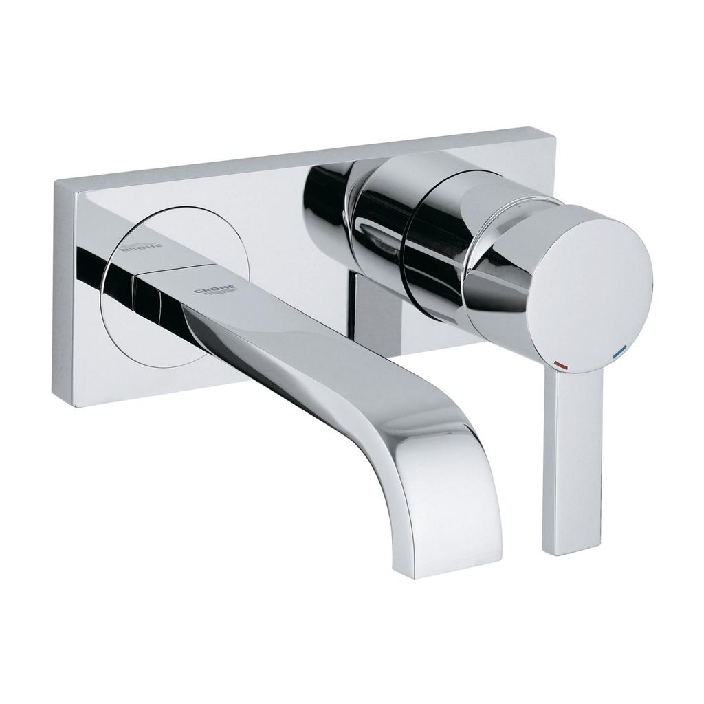Grohe Allure Bathroom Faucet: Grohe 1930000A Allure Two Hole Wall Mount S Size Bathroom