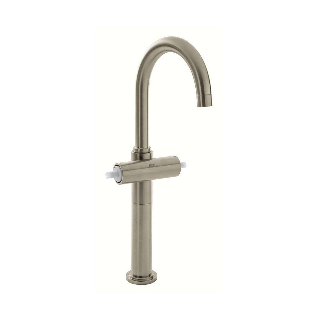 Grohe 21046ENA Atrio Single Hole XL Size Bathroom Faucet Brushed ...