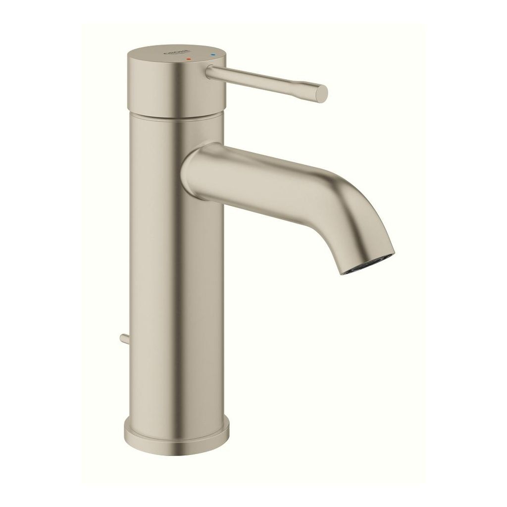 Grohe 23592ena Essence Single Handle S Size Bathroom Faucet Brushed Nickel