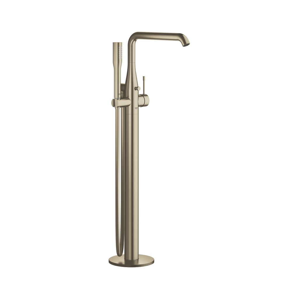Grohe Grohe 23491EN1 Essence Single Handle Bathtub Faucet Brushed Nickel ...