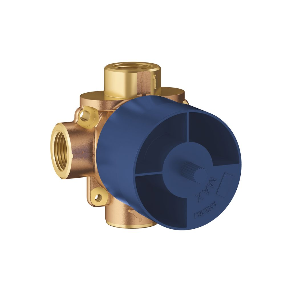 Grohe 29903000 3 Way Diverter Rough In Valve Shared Home