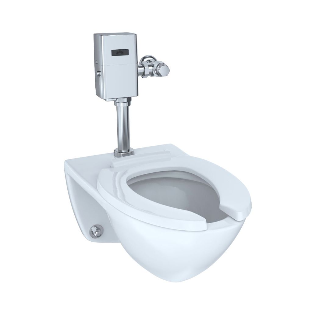 TOTO CT708U Commercial Flushometer Ultra High Efficiency Elongated ...