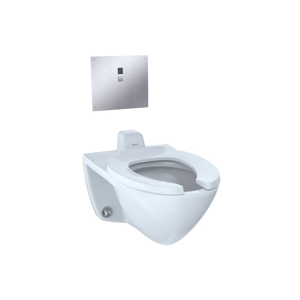 TOTO CT708UV Commercial Flushometer Ultra-High Efficiency Toilet ...