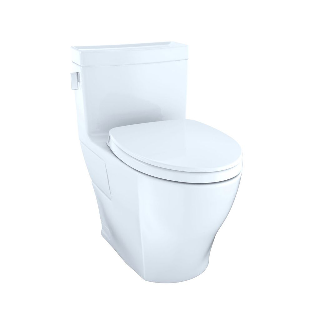 TOTO MS624124CEFG Legato One Piece Elongated Toilet Washlet ...