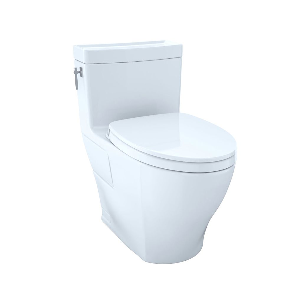 TOTO MS626124CEFG Aimes One Piece Elongated Toilet Washlet ...