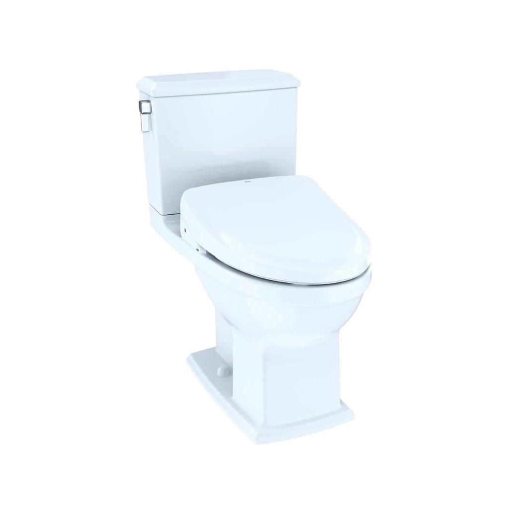 TOTO MW4943054CEMFG Connelly WASHLET S550e Two Piece Toilet Cotton ...
