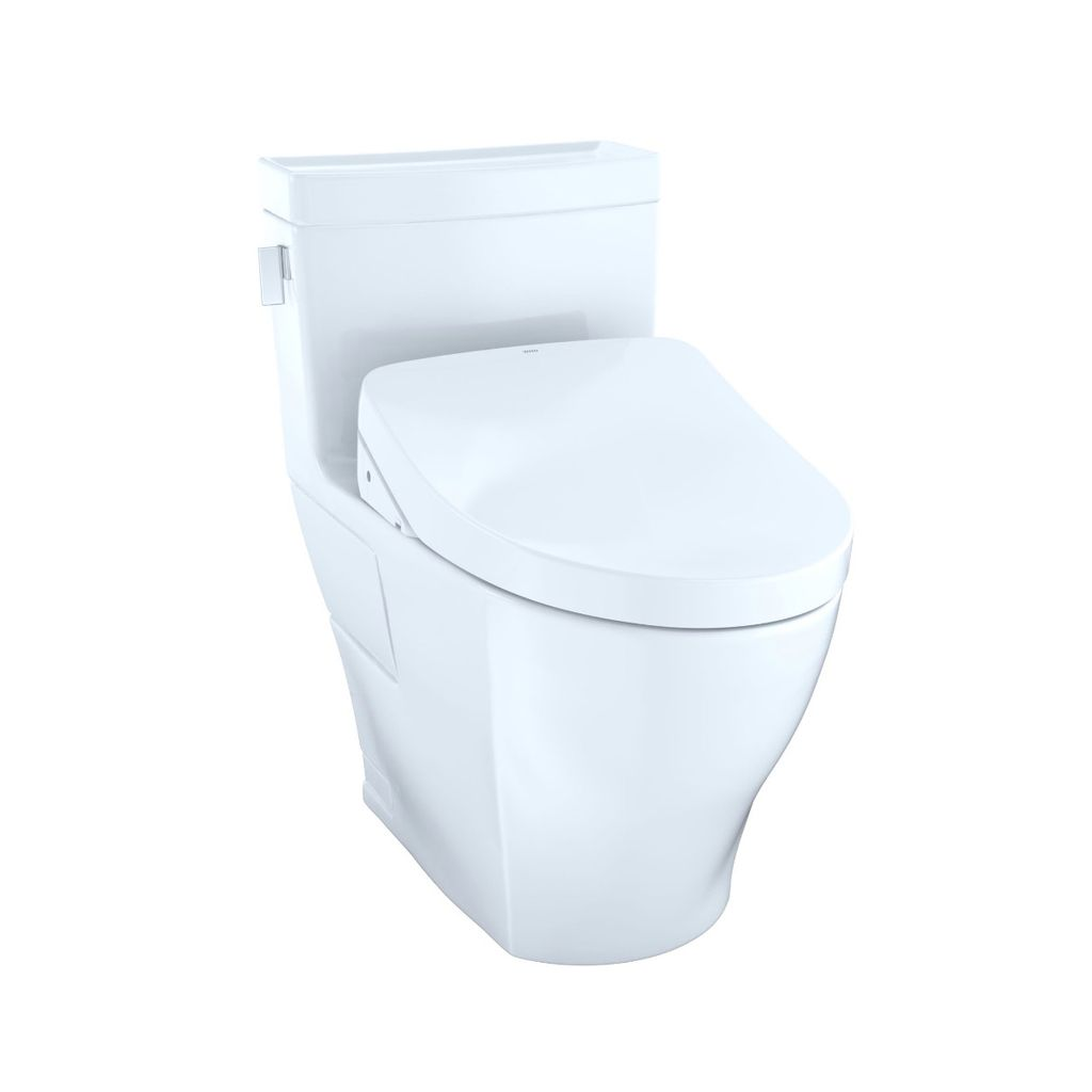 TOTO MW6243056CEFG Legato WASHLET S550e One Piece Toilet Cotton ...