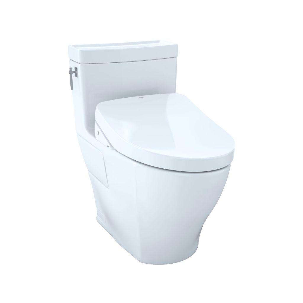 TOTO MW6263046CEFG Aimes WASHLET S500e One Piece Toilet Coton - Home ...
