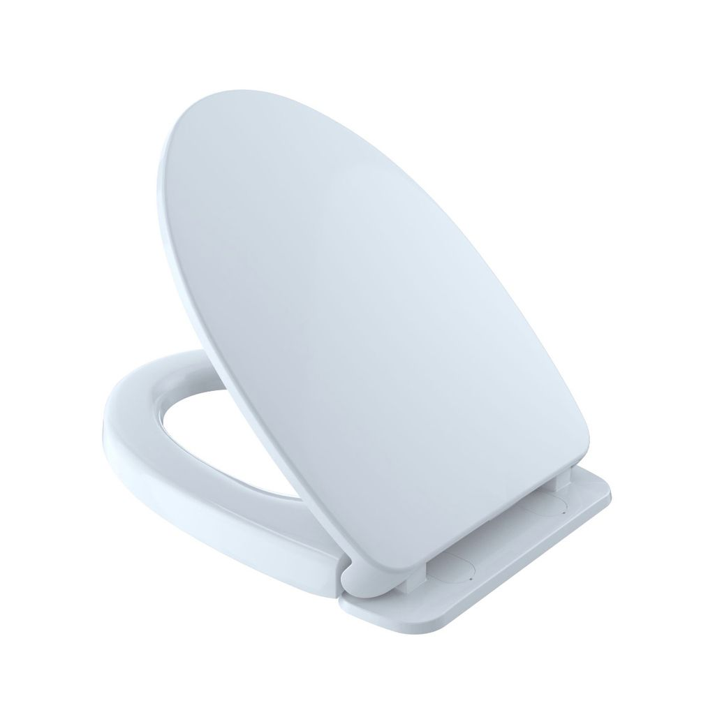TOTO SS124 SoftClose Elongated Toilet Seat Cotton - Home Comfort Centre