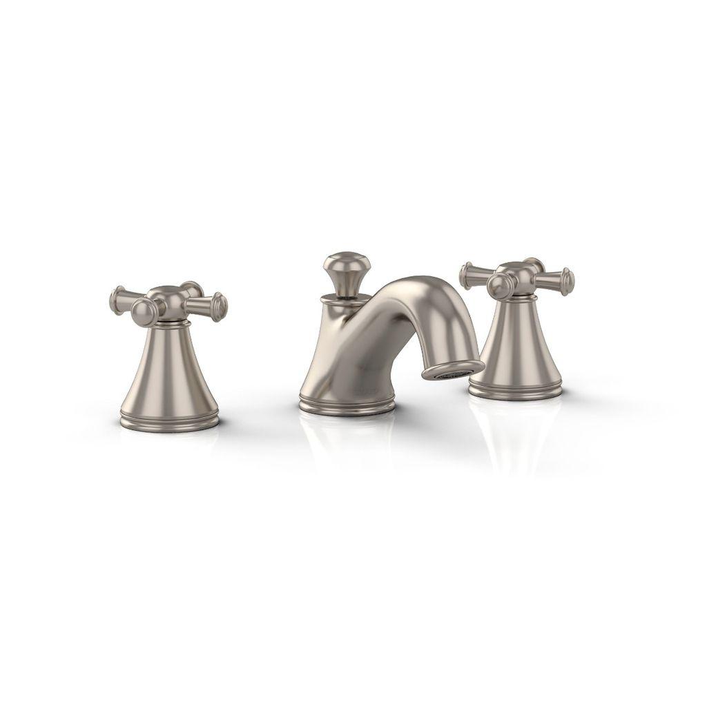 TOTO TL220DD12 Vivian Widespread Lavatory Faucet Cross Handles ...