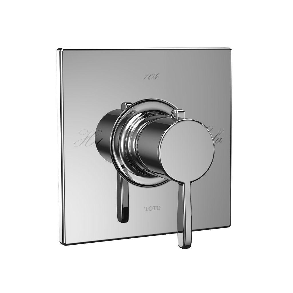 TOTO TS626T Aimes Thermostatic Mixing Valve Trim Chrome - Home ...