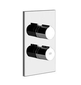Gessi Gessi 38799 Emporio Three Way Thermostatic Diverter And Volume Control Chrome