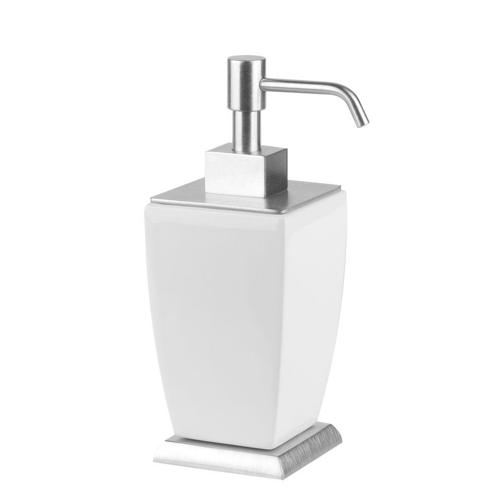 Gessi 33238 Mimi Liquid Soap Dispenser In Ceramic Home