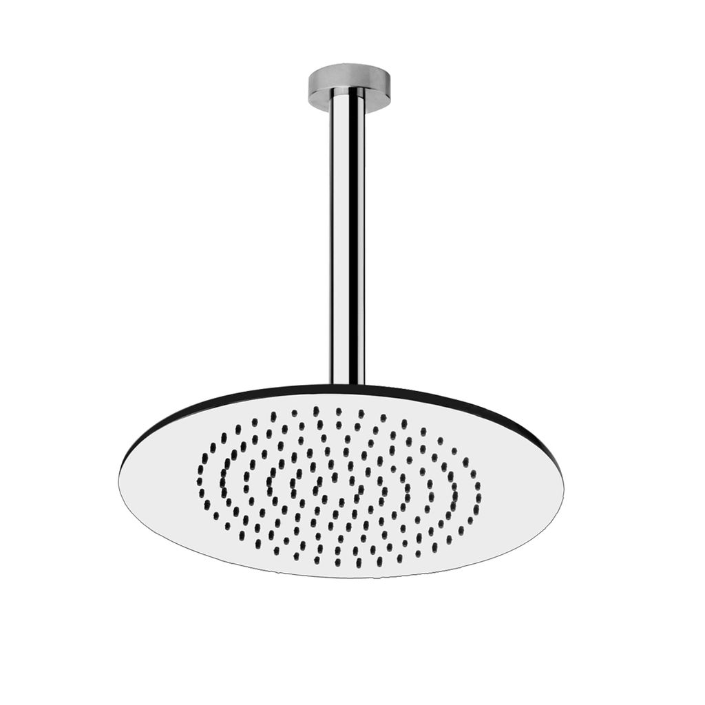 ceiling mounted shower head. Gessi 26951 Ovale Ceiling Mounted Shower Head Chrome