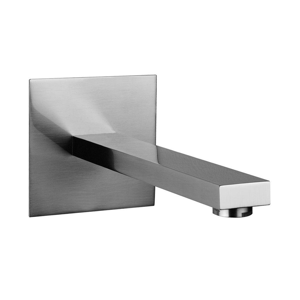 Gessi 26600 Rettangolo Wall Mounted Washbasin Spout Chrome