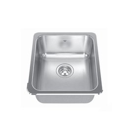 Kindred Kindred QSA1816/8 18 x 16 Single Bowl Prep Sink