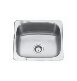 Kindred Kindred QS1820/10 18 x 20 Single Bowl Laundry Sink