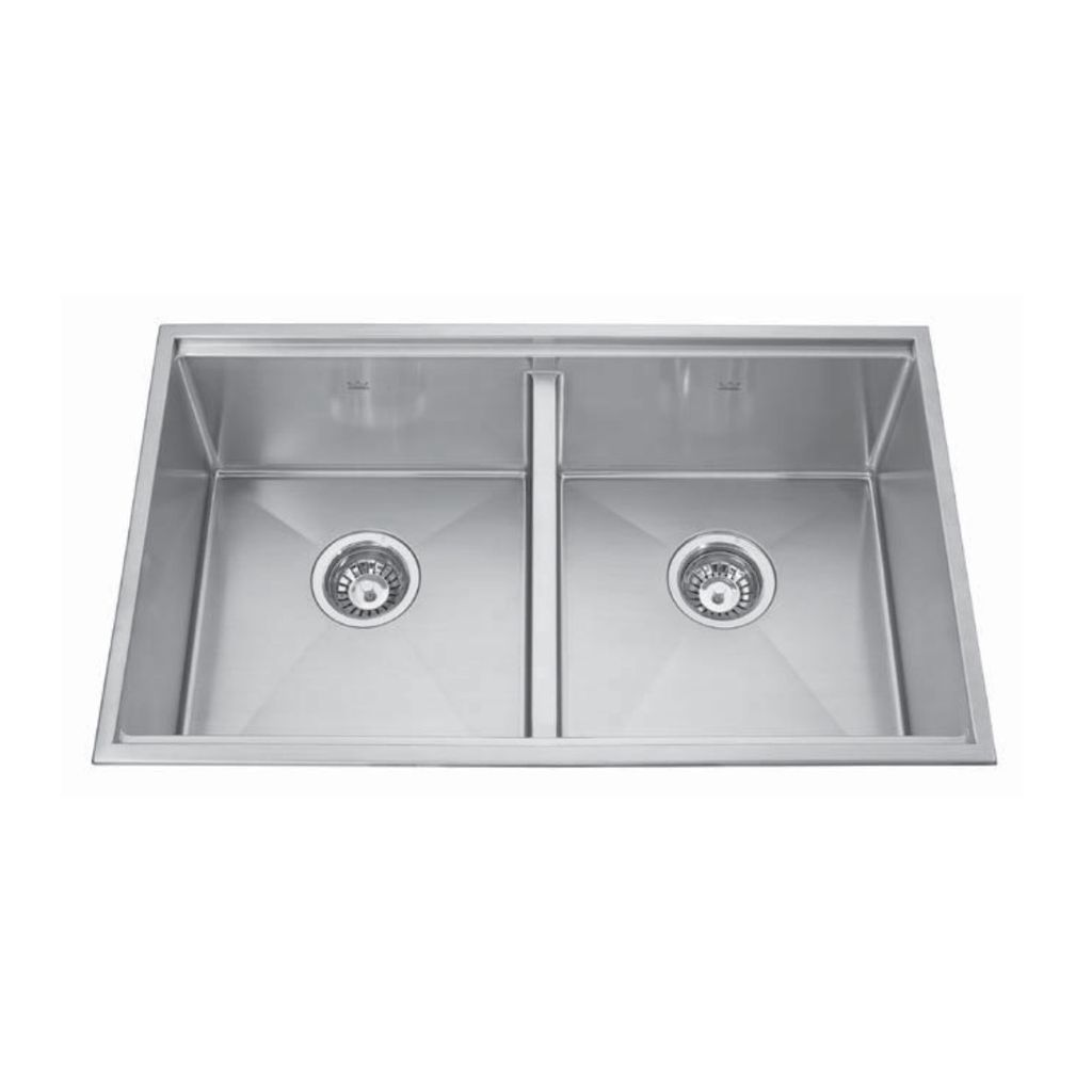 Kindred Kindred KCD33/9-10A 30 x 18 Double Bowl Kitchen Sink