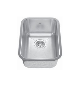 Kindred Kindred KSS8UA/8D 13 x 18 Single Bowl Round Undermount Sink
