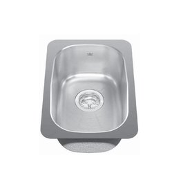 Kindred Kindred KSS3UA/7D 12 x 18 Single Bowl Undermount Sink
