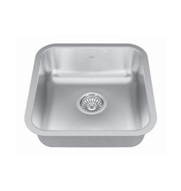 Kindred Kindred QSUA1616/6 16 x 16 Single Bowl Undermount Sink
