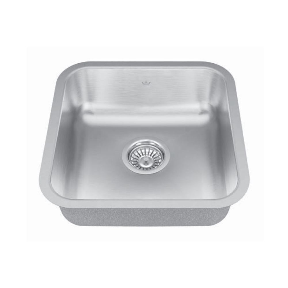 Kindred Qsua1616 6 16 X 16 Single Bowl Undermount Sink