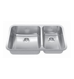 Kindred Kindred QCUA1933R/8 33 x 19 Combination Bowl Undermount Sink