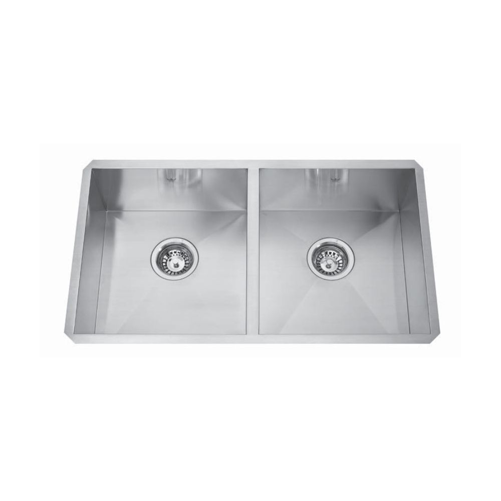 Kindred Kindred QDFU1831/8 31 x 18 Double Bowl Kitchen Sink