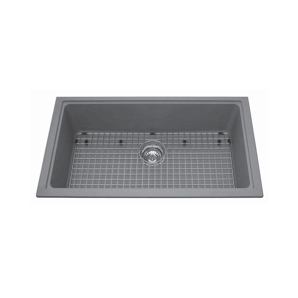 Kindred Kgs1u 8 31 X 18 Single Bowl Undermount Sink