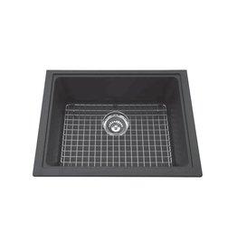 Kindred Kindred KGS2U/8 23 x 18 Undermount Single Bowl Sink Espresso
