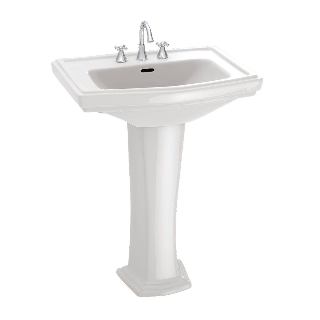 TOTO LPT780 Clayton Pedestal Lavatory Sink Cotton - Home Comfort Centre