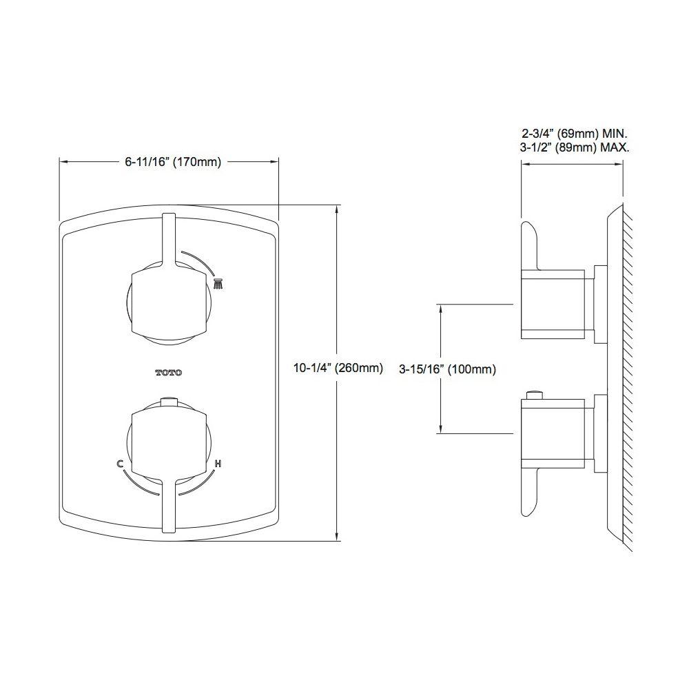 Toto Mixing Valve Diagram - Circuit Connection Diagram •